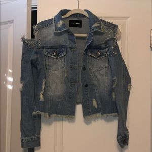 Jean Jacket with Design